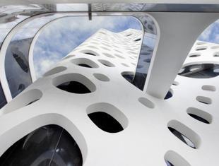 Nowy wieżowiec w Dubaju. Żelbetowa elewacja wieżowca O-14 jako konstrukcja nośna