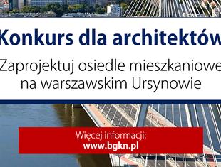 Konkurs na projekt osiedla na warszawskim Ursynowie