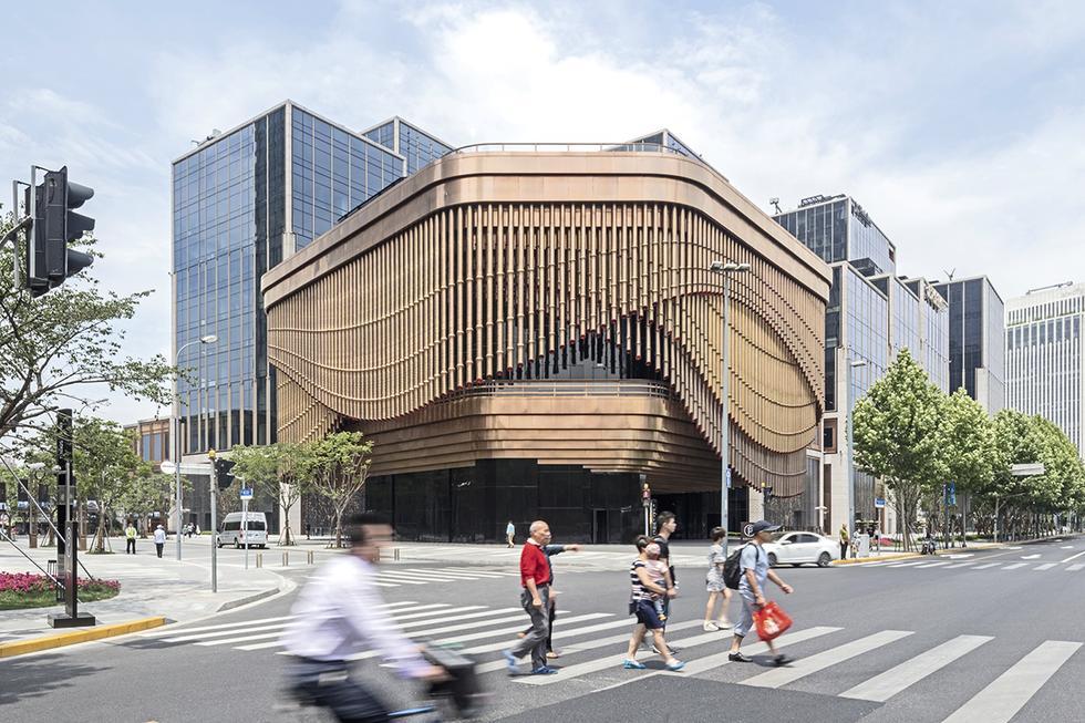 Centrum kulturalne w Szanghaju